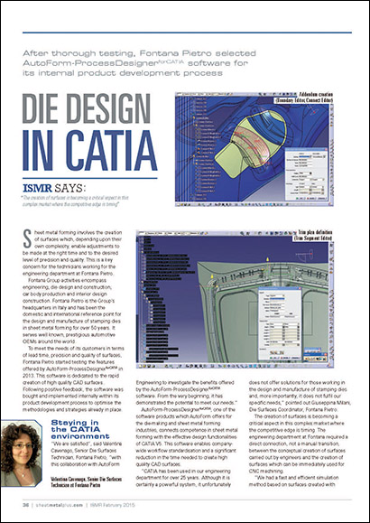 Die Design in CATIA