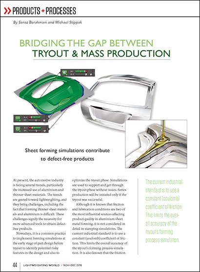 Bridging the Gap Between Tryout & Mass Production