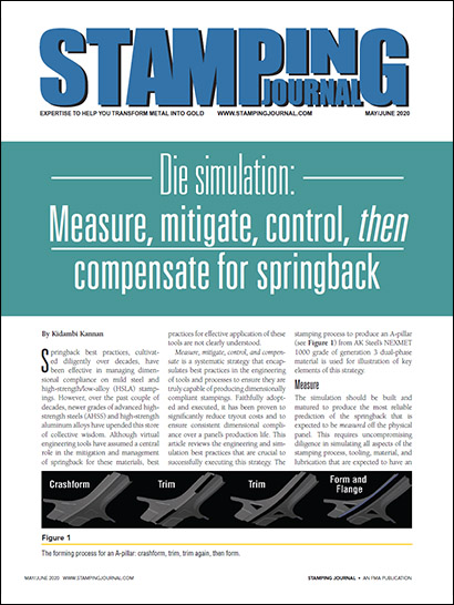 Measure, mitigate, control, then compensate for springback (PDF 924 KB)