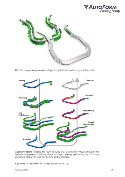 Rapid Design and Simulation of Tube Hydroforming