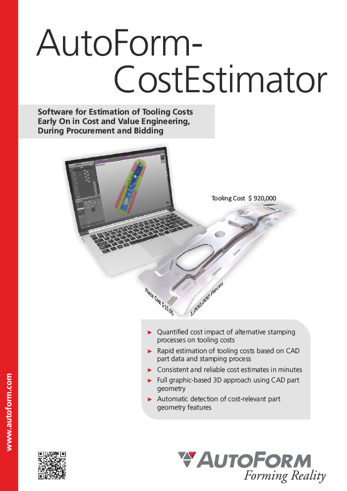 AutoForm-CostEstimator – Brochure