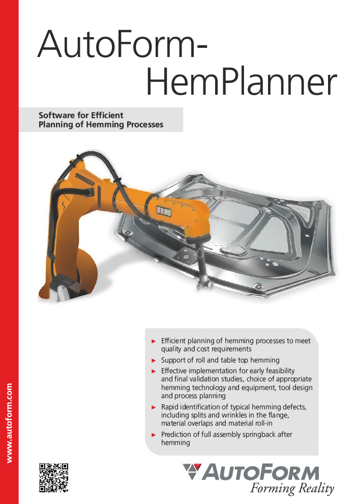 AutoForm-HemPlanner – Folleto