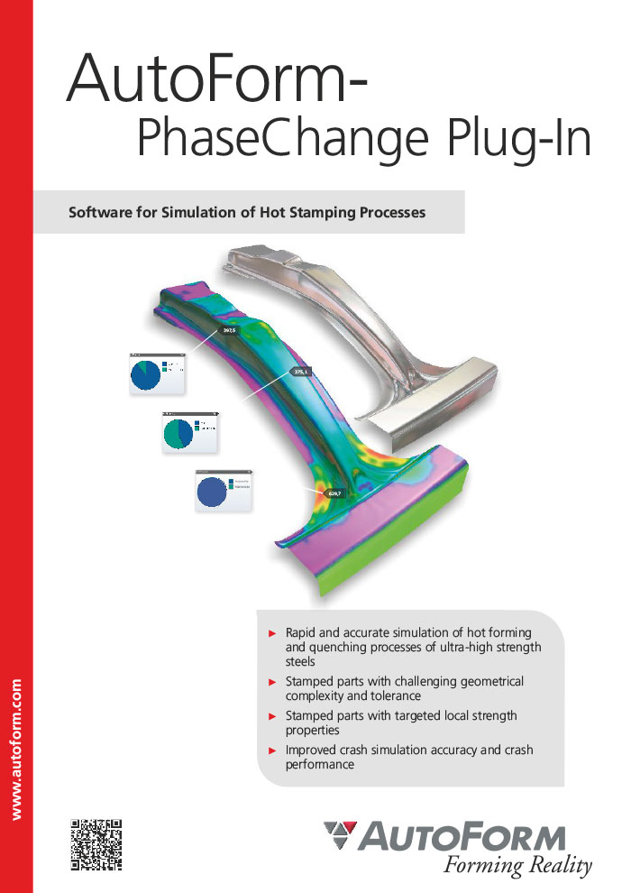 AutoForm-PhaseChange Plug-In – 宣传册