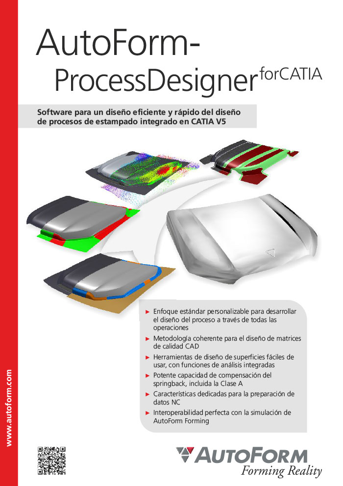 AutoForm-ProcessDesigner^forCATIA – Folleto