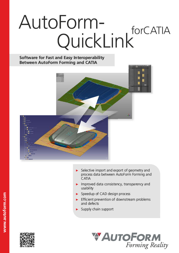 AutoForm-QuickLink^forCATIA – 宣传册