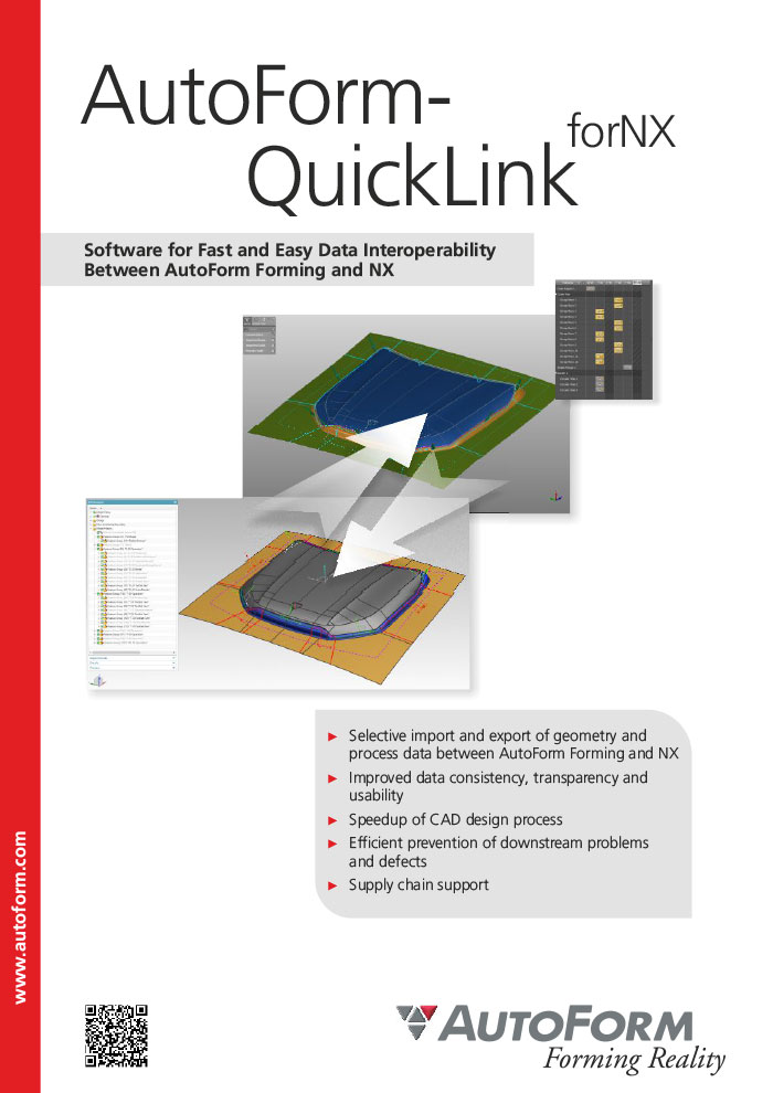 AutoForm-QuickLink^forNX – Folleto