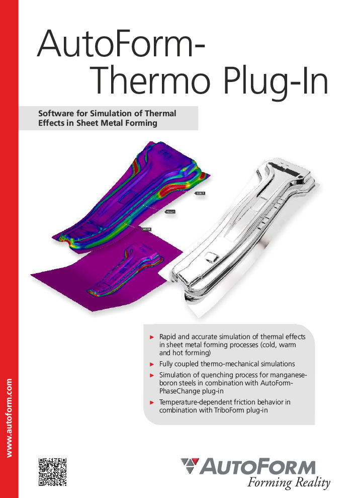 AutoForm-Thermo Plug-In – 카다로그